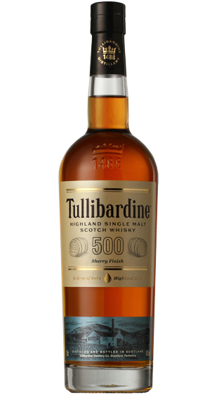 Tullibardine 500 Sherry Finish Single Malt Whisky (700ml)