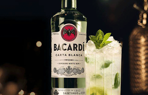 Cocktail me bacardi