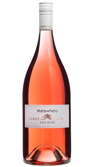 Image result for Matawhero First Sun Gisborne Rosé 2018