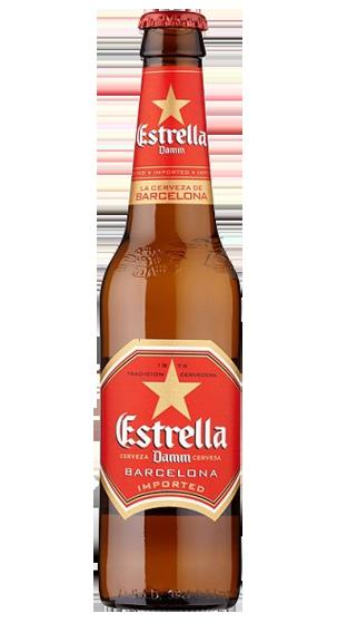 Estrella Damm Spanish Lager 12 Pack 330ml
